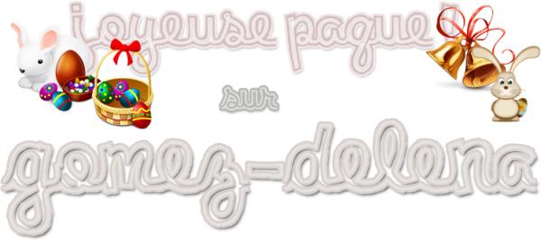 JOYEUSE PAQUE ! ♥