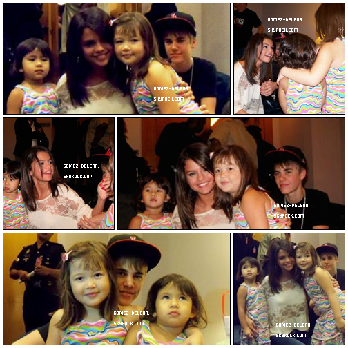 . . - Photo Personnelle + 2 Fan on eu la chance de rencontrés Justin et Selena a l'hotel ! ^^ . .