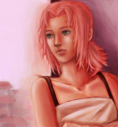 Tableau de Sakura dans le chapitre 5
