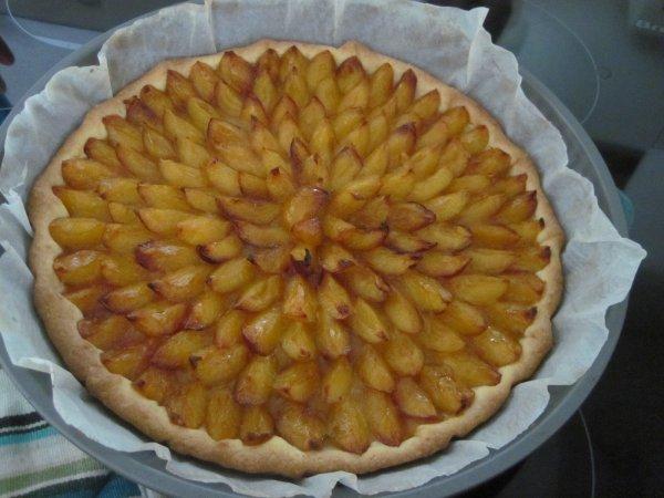La fameuse tarte aux mirabelles