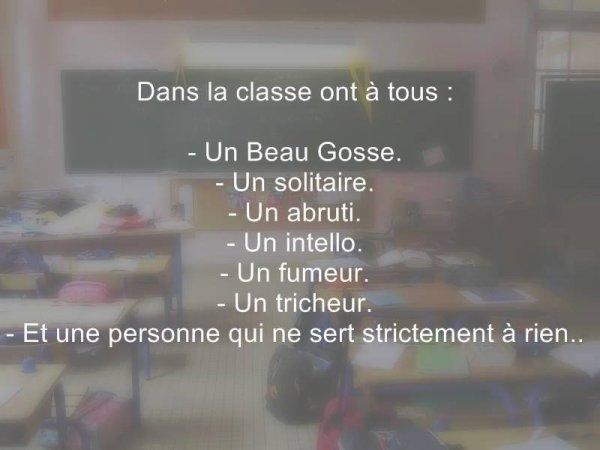 en classe !!!!!!!!!!