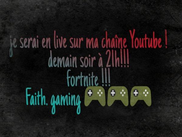 Ma chaîne youtube :) !!!
