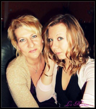 Mon reflet est juste celui de ma mère .. ♥