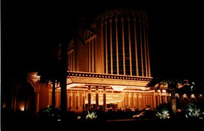 Casino Aladin à Las-Vegas du concert de Johnny