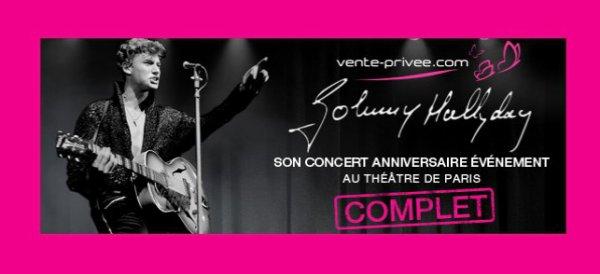 Les places pour le concert-anniversaire de Johnny vendues en une seconde