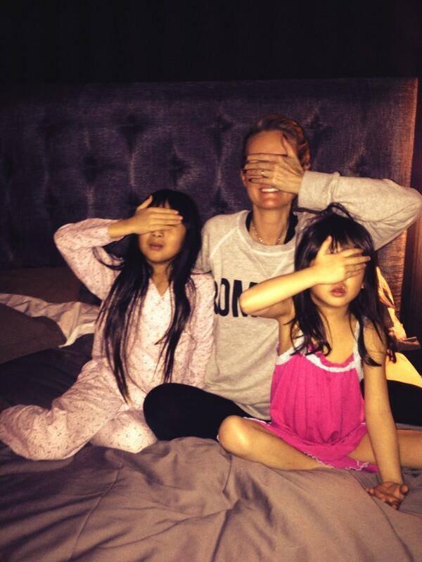 TheVoice avec les filles Jade et Joy