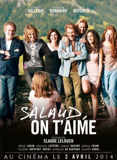 L'affiche du film #SalaudOnTaime! Sortie le 2 avril 2014!