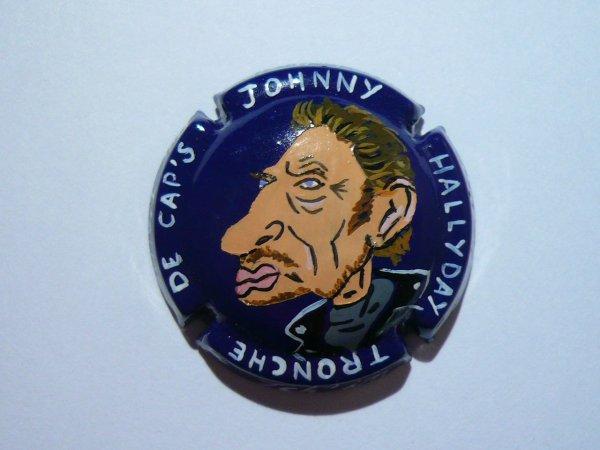 Capsule de Champagne Johnny Hallyday