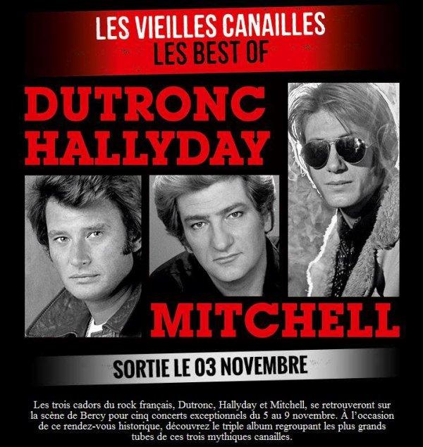 """Triple CD """"Les Vieilles Canailles"""" sortie le 03 novembre 2014"""