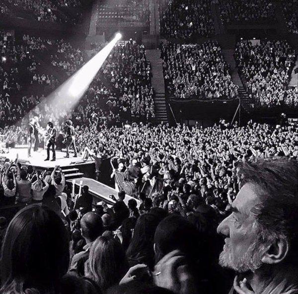 Mister Eddy était à Bercy Arena samedi soir ...
