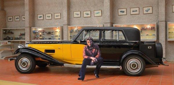 La Panther de Johnny Hallyday au Musée de l'Auto