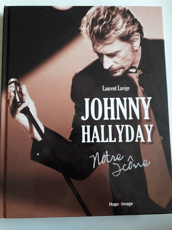 Johnny Hallyday votre icone