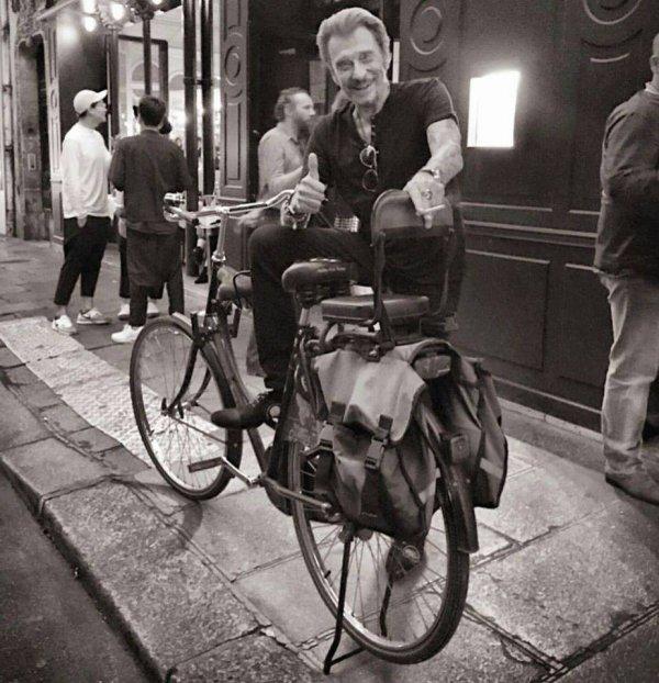 Pas mal ton vélo Johnny
