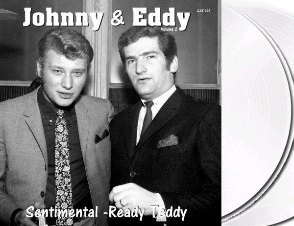 C'est demain le grand jour... Sortie du Volume 2 Johnny et Eddy 45t dispo en vinyl noir ou blanc opaque.