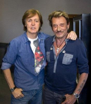 Avec Paul McCartney - 2012