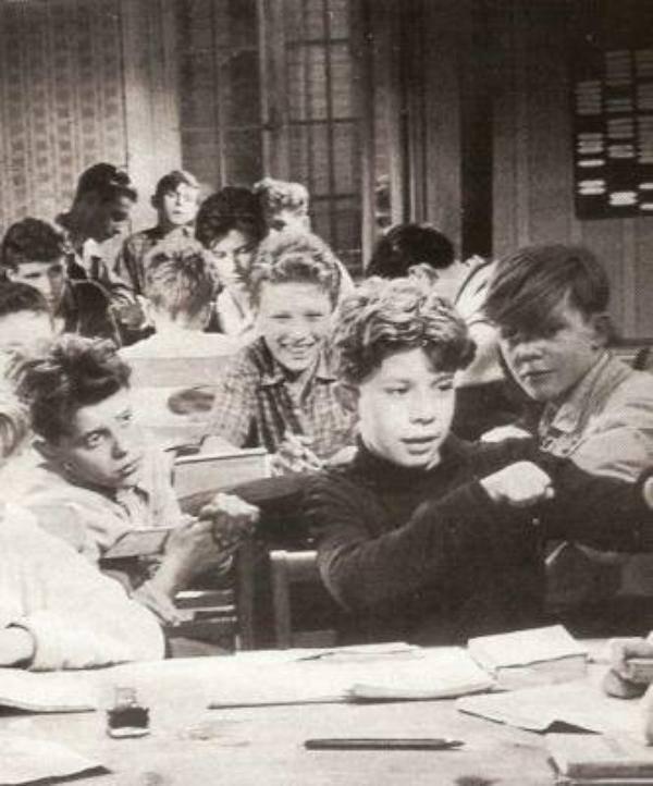 Johnny à l'école
