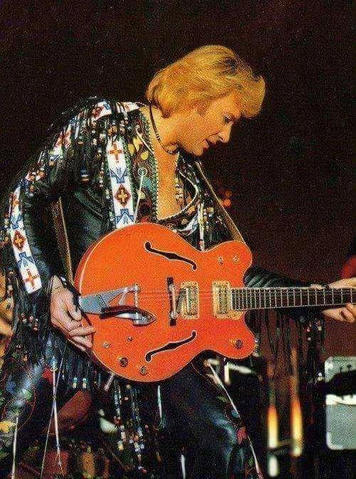 Johnny en concert