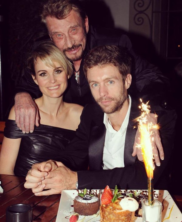 Laeticia Hallyday Joyeux anniversaire mon frère @amnesiacap Happy birthday my loving supportive and soulful dear brother Greg ❤ On t'aime @gregoryboudou