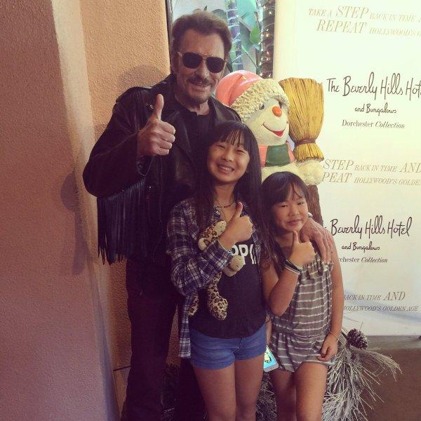 Johnny et les filles.