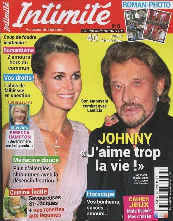 """""""Intimité"""" n° 13 du 11 avril 2017"""