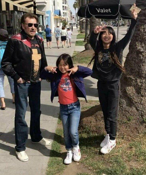 Heureux avec ses filles chéries