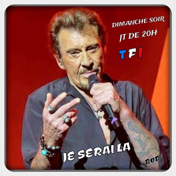 EXCLUSIF : Johnny au JT de TF1 dimanche