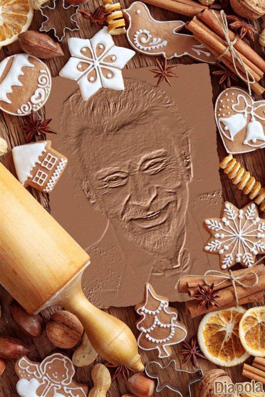 Gravure sur du chocolat