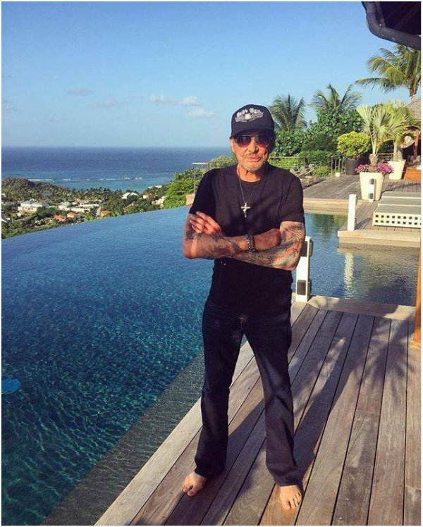 Johnny à St Barth  29/07/2017