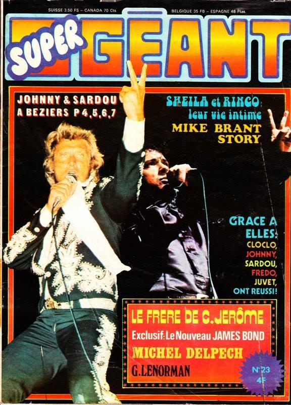 Super Géant no23 Août 1974