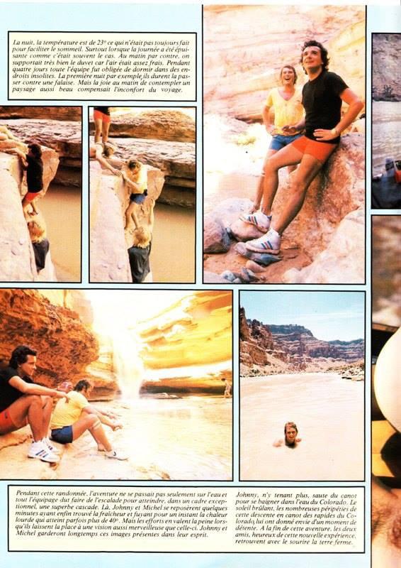 Salut nº60 La folle randonnée de Johnny et Sardou dans le Colorado 28 juin 1978. Magnifique aventure