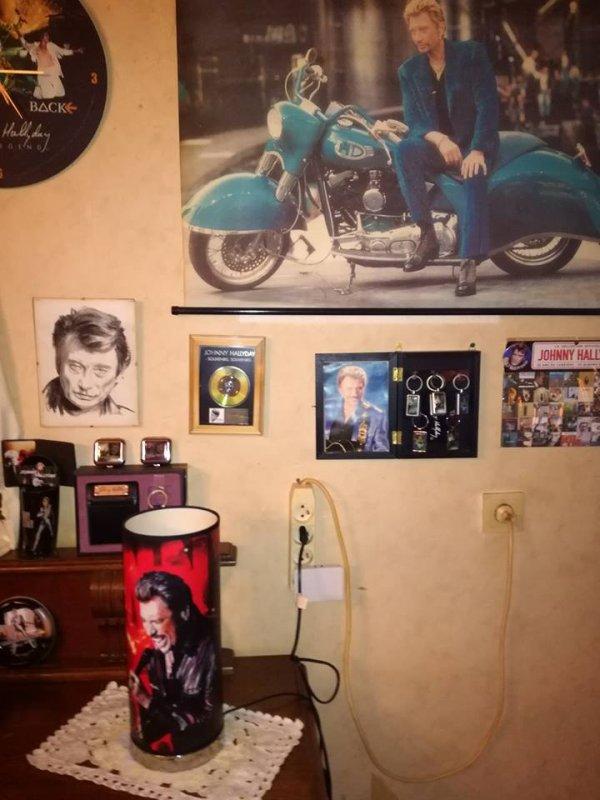 Une collectionneuse de Johnny