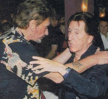 Johnny avec l'Acteur Jean Lefebvre qui aurait 98 Ans aujourd'hui