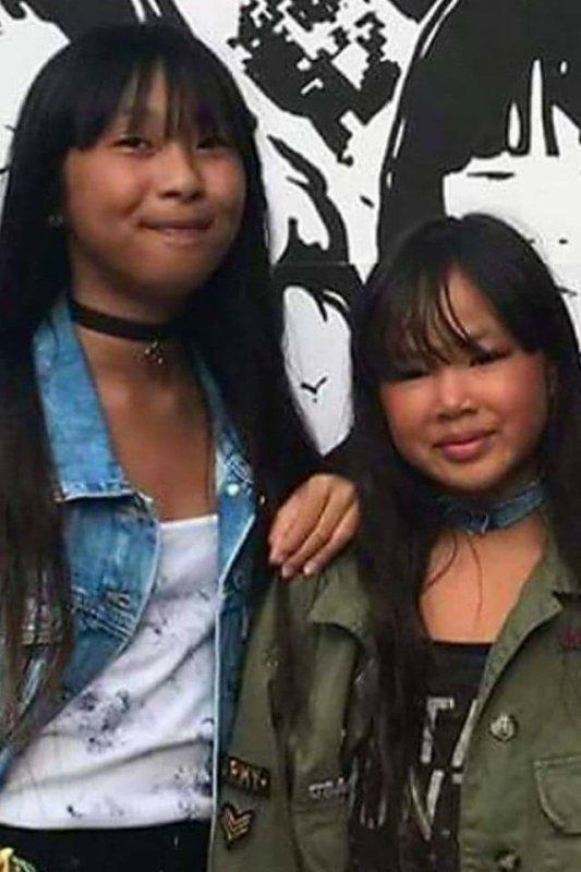 Filles de Johnny et Laeticia