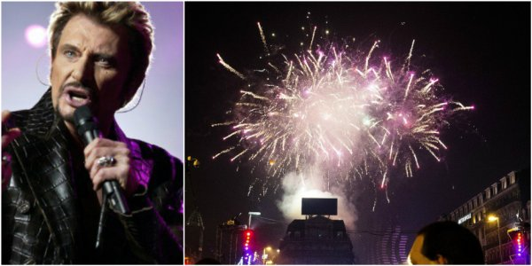 Bruxelles: Le feu d'artifice du Nouvel An rendra hommage à Johnny Hallyday