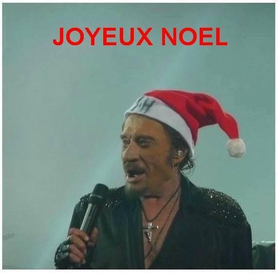 Une bougie pour Johnny à Noel...