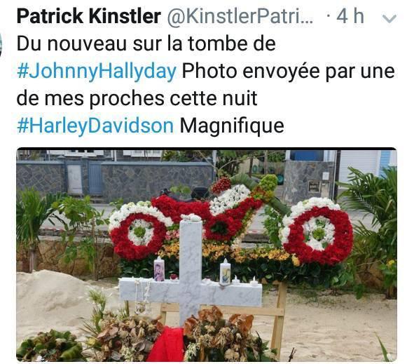 Du nouveau sur la tombe de Johnny