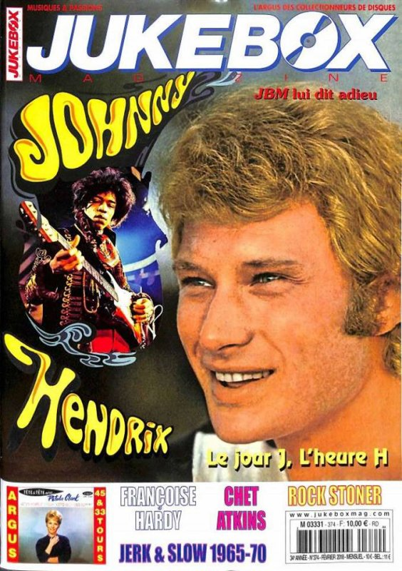 Jukebox Magazine n° 374 du 16 janvier 2018