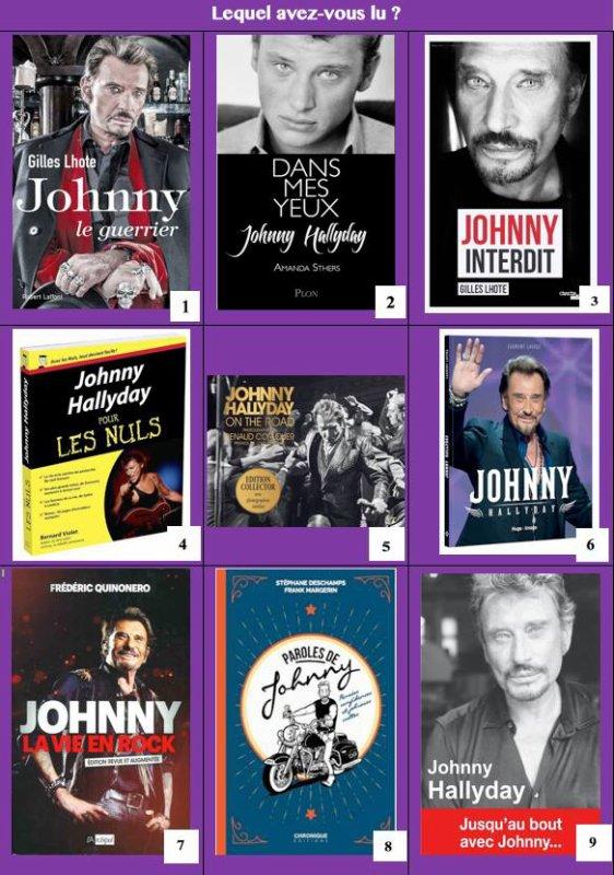 De nombreux auteurs ont eu envie de raconter la vie de Johnny