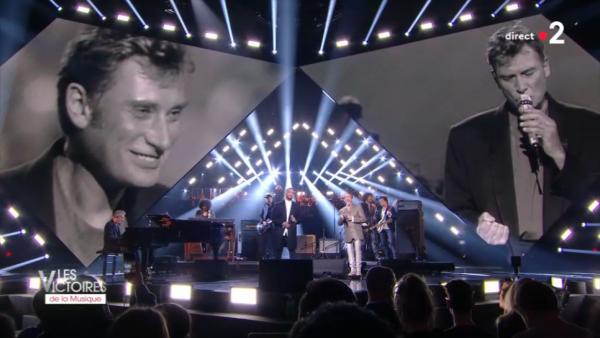 Les Victoires de la Musique 2018 ont rendu hommage à Johnny Hallyday