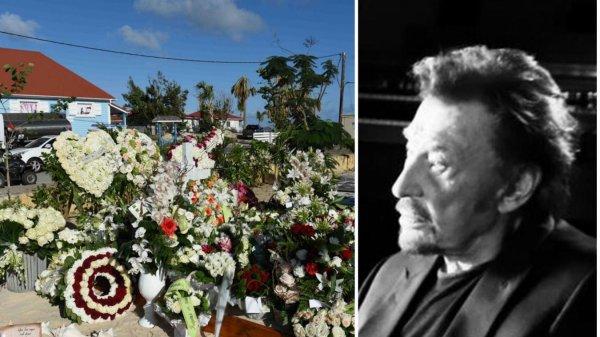 Visites limitées autour de la tombe de Johnny Hallyday sur l'île de Saint-Barthélemy: pas plus de 5 personnes à la fois!