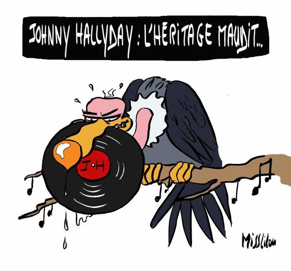 19 mars 2018 – L'héritage de Johnny Hallyday