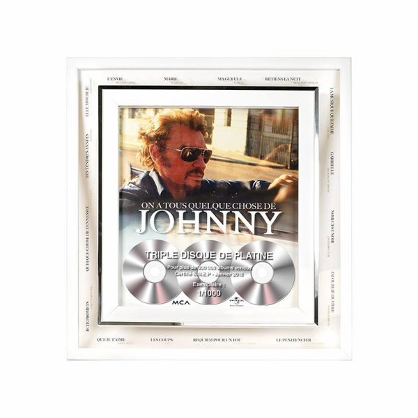 Retrouvez, en partenariat avec Galaxie des Stars, deux produits d'exception pour célébrer la mémoire éternelle de Johnny Hallyday.
