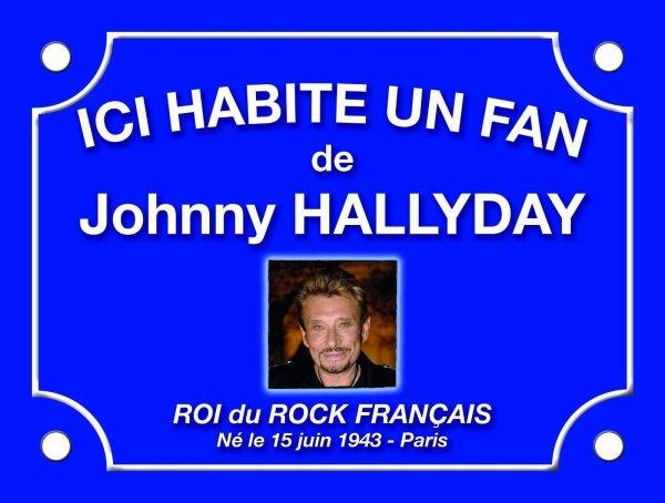 Pour tous les fans de Johnny