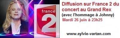📺 Rendez-vous mardi 26 juin à partir de 23h25 sur France 2 pour la diffusion du concert au Grand Rex !
