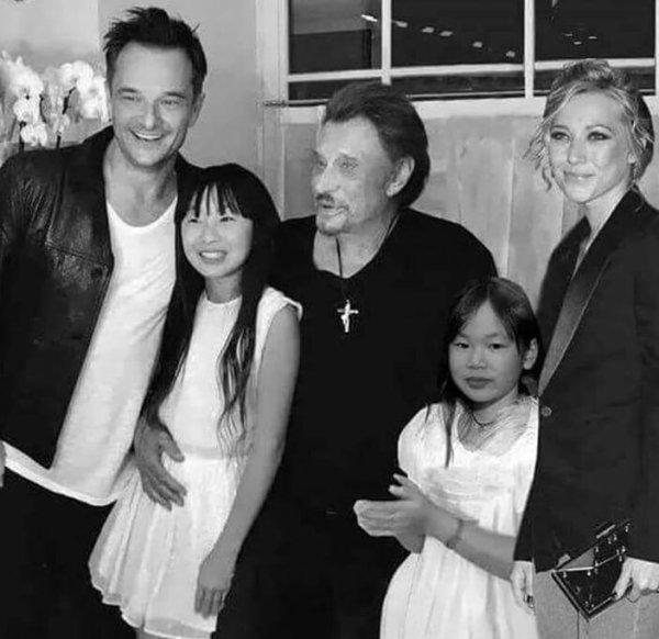 Johnny et ses 4 enfants