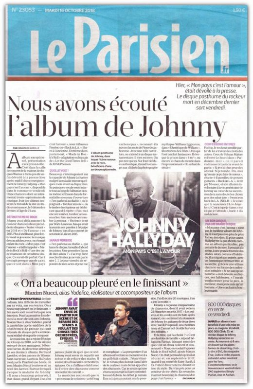 Album de Johnny