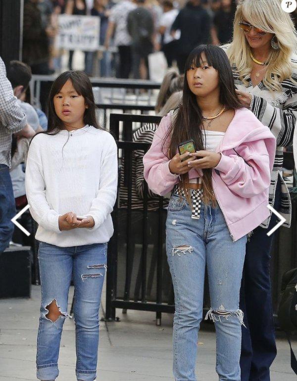 Les filles de Johnny