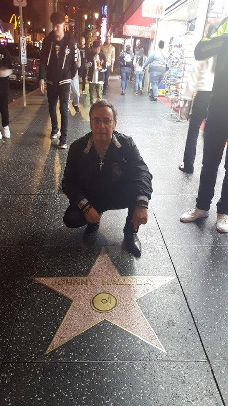 Hollywood boulevard ( Los Angeles )Etoile du Boss