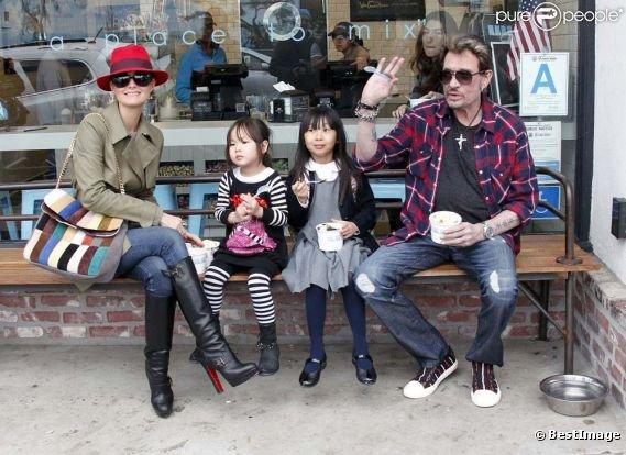 Famille Hallyday