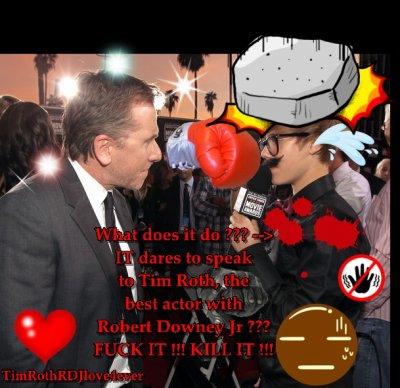 Montage pour les anti-Bieber & les Love Tim Roth ! ^^